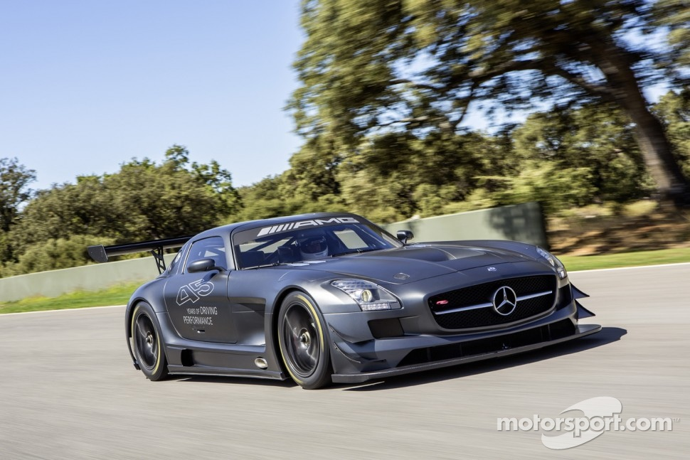 The 45th anniversary Mercedes-Benz SLS AMG GT3