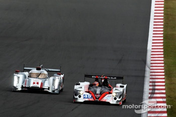 #1 Audi Sport Team Joest R18 e-tron quattro: Marcel Fssler, Benoit Trluyer, Andre Lotterer, #49 Pecom Racing Oreca 03 Nissan: Luis Perez Companc, Pierre Kaffer, Nicolas Minassian