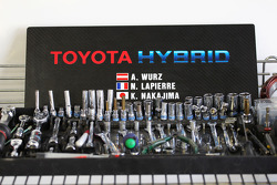 Toyota Racing tools