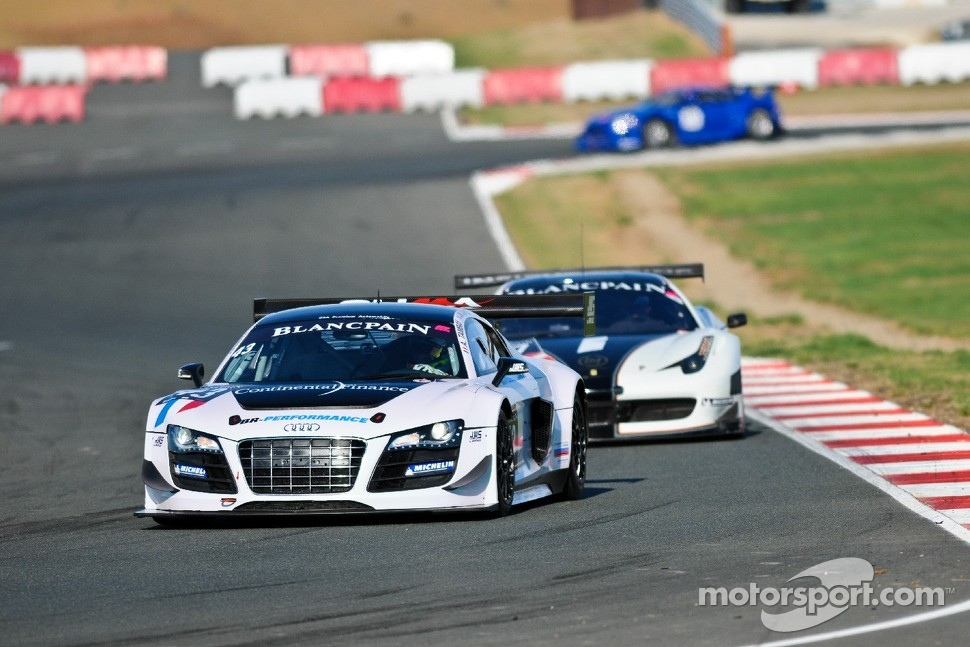 #43 Sainteloc Racing Audi R8 LMS Ultra: Jean-Marc Quintois, Jerome Demay, Adrien Tambay