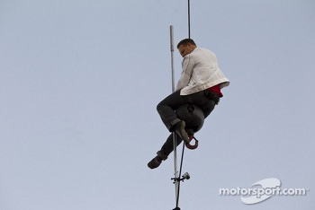 A tightrope walker