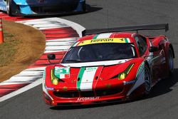 #51 AF Corse Ferrari F458 Italia: Giancarlo Fisichella, Gianmaria Bruni