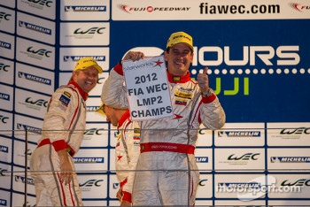 Enzo Potolicchio, Tom Kimber-Smith, Stphane Sarrazin clinch the LMP2 2012 title