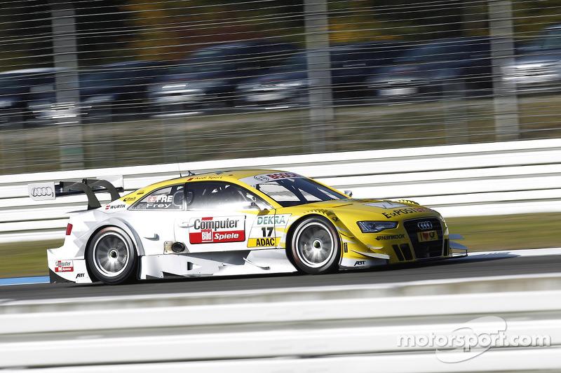 Rahel Frey, Audi Sport Team Abt Audi A5 DTM