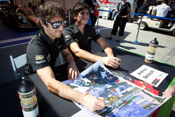 Nicolas Prost and Andrea Belicchi