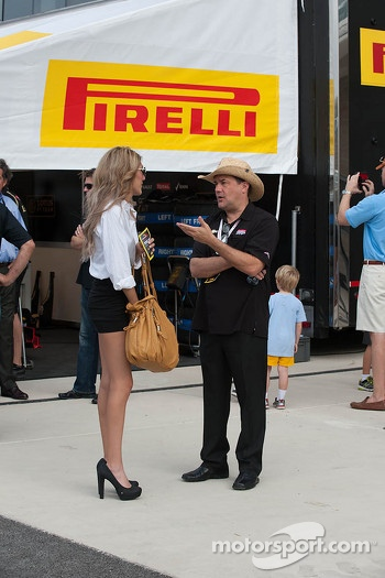 Lovely Pirelli girls