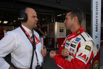 Andrea Adamo, Chief Designer, Honda Racing Team Jas  and Tiago Monteiro, Honda Civic Super