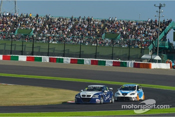 Alberto Cerqui, BMW 320 TC, ROAL Motorsport and Fernando Monje, SEAT Leon WTCC, SUNRED Engineering