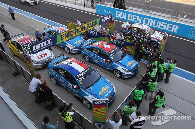 Alain Menu, Chevrolet Cruze 1.6T, Chevrolet race winner
