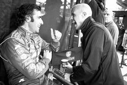 Dario Franchitti and Marino Franchitti share a laugh