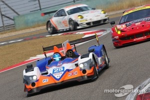 Current Le Mans P2 and GT3 cars at Shanghai