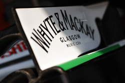 Sahara Force India F1 Team front wing detail