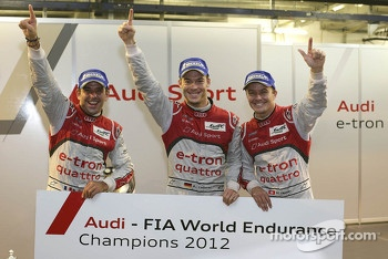 2012 champions Marcel Fssler, Benoit Trluyer, Andre Lotterer
