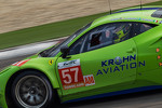 #57 Krohn Racing Ferrari F458 Italia: Nic Jonsson, Tracy Krohn, Michele Rugolo