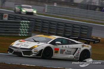 #88 JLOC Lamborghini Gallardo LP600+ GT3: Manabu Orido, Takayuki Aoki