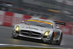 #52 Green Tec & Leon Racing Team Mercedes-Benz SLS AMG GT3: Hironori Takeuchi, Takeshi Tsuchiya