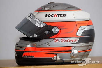 Hugo Valente, SEAT SR Leon 1.6, SUNRED Engineering's helmet