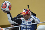 Podium: second place Katsuyuki Nakasuga, Yamaha Factory Racing