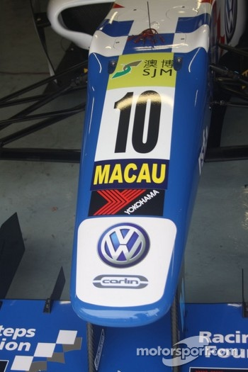 Jack Harvey's car