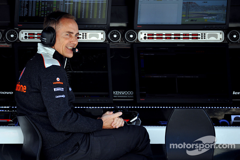 Martin Whitmarsh, McLaren Mercedes