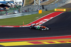 Nico Hulkenberg, Sahara Force India F1 recovers from a spin