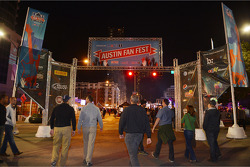 Austin Fan Fest on the Saturday night