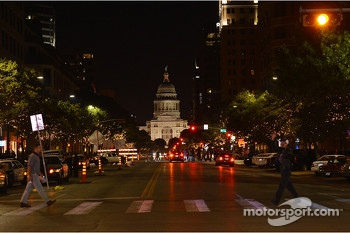 Austin on the Saturday night