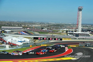 Start at Circuit of The Americas