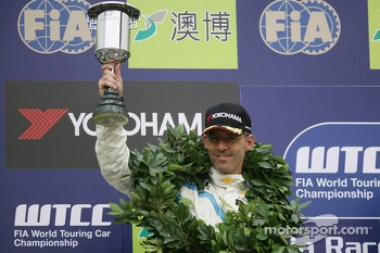 2nd position Alain Menu, Chevrolet Cruze