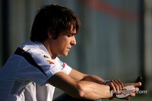 Esteban Gutierrez, third driver, Sauber F1 Team