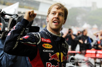 2012 World Champion Sebastian Vettel, Red Bull Racing