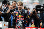 Sebastian Vettel, Red Bull Racing celebrates his World Championship in parc ferme