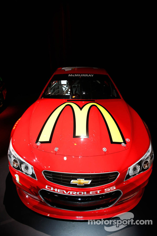 Jamie McMurray's 2013 Chevrolet SS Sprint Cup car