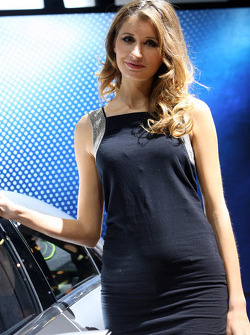 Mercedes Stand Girl