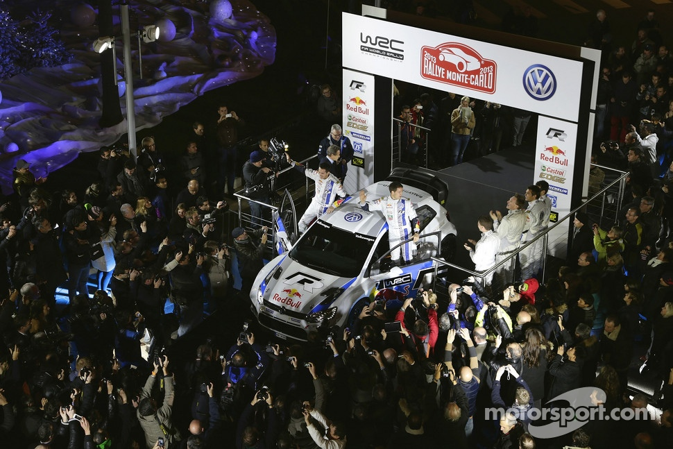 Volkswagen Polo R WRC presentation in Monte Carlo