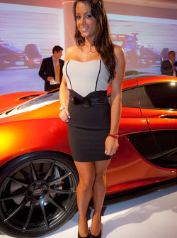 A lovely guest and the McLaren P1