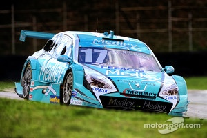 Rubens Barrichello with new ride in Brazil, 2012