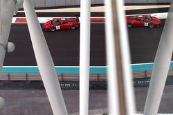 #11 AF Waltrip Ferrari 458 Italia: Alex Popow, Ryan Dalziel, Pierre Kaffer