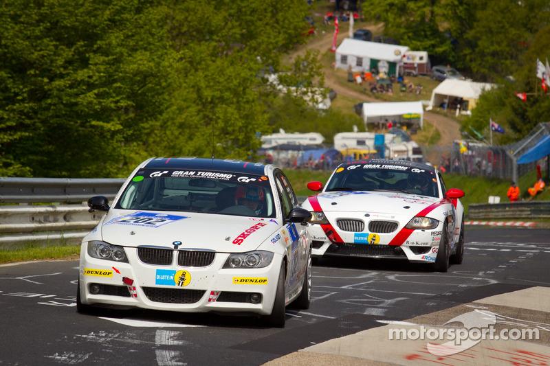 #202 Bonk Motorsport: BMW 320 si: Axel Burghardt, Guy Stewart, Toshiya Ito