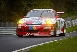 #33 11er-Ecke-Logwin Racing Porsche 911 GT3 Cup: Andreas Szcepansky, Steffen Schlichenmeier, Peter König, Kurt Ecke