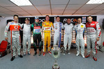 Jamie Whincup, Jorge Lorenzo, Benito Guerra, Ryan Hunter-Reay, Sbastien Ogier, Mick Doohan, Andy Priaulx, Tom Kristensen