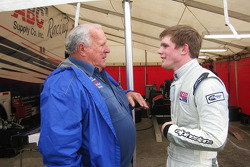 Conor Daly and A.J. Foyt