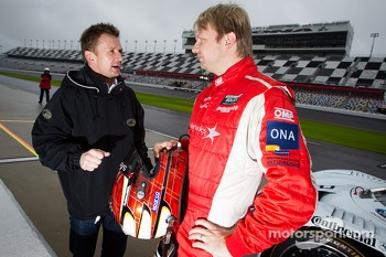 Allan McNish and Ryan Dalziel