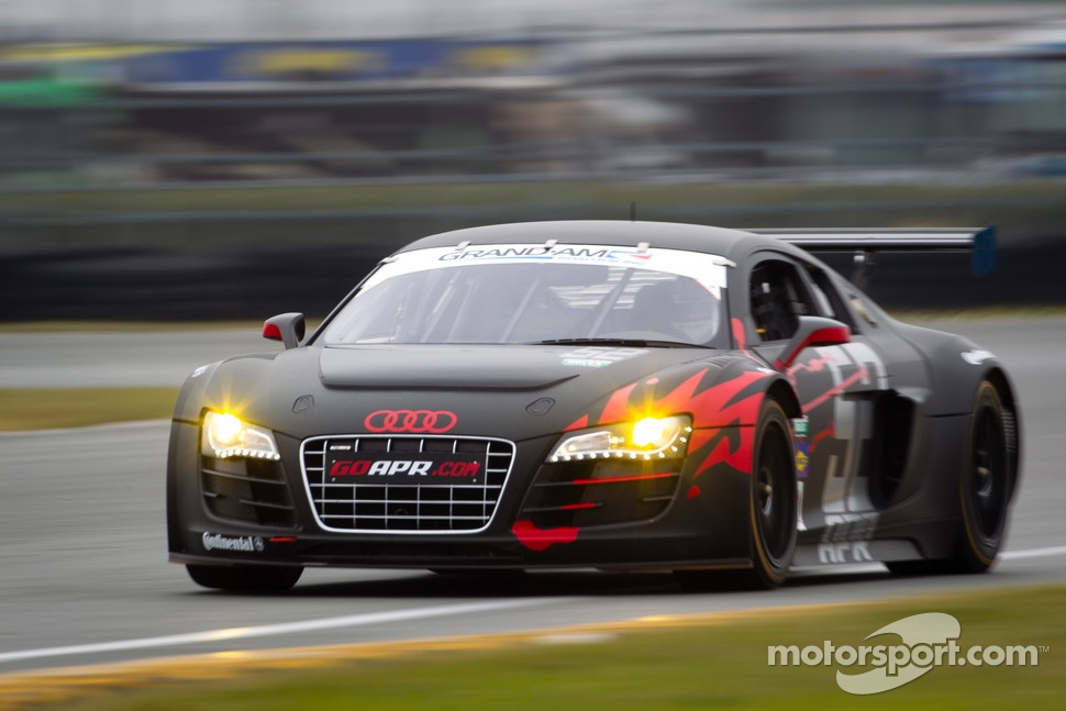 #52 Audi Sport Customer Racing/APR Motorsport Audi R8 Grand-Am: Jim Norman