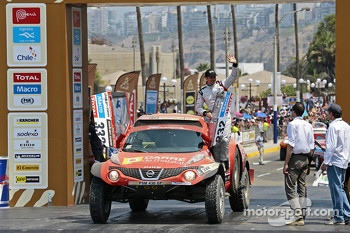 #332 Nissan Juke Buggy: Stphane Wintenberger, Thierry Delli-Zotti