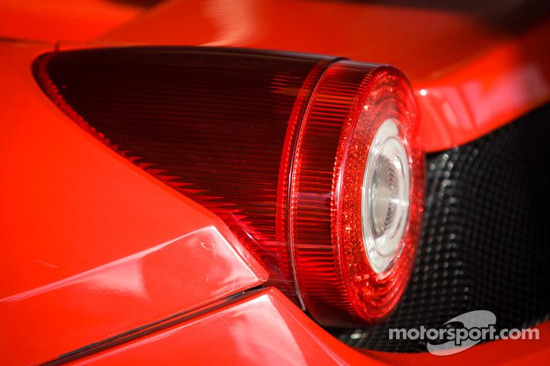 #64 Scuderia Corsa Ferrari 458 rear light