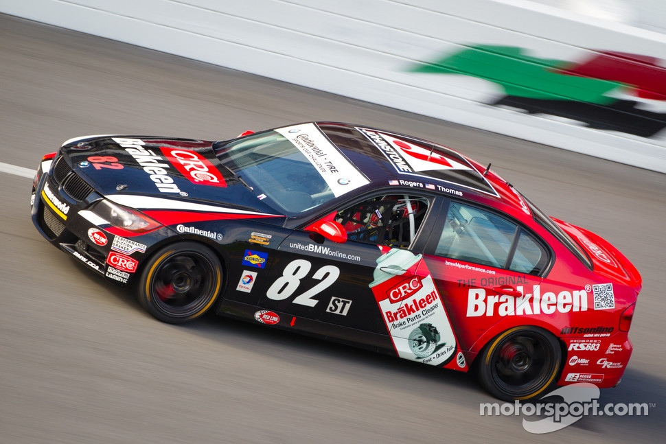 #82 BimmerWorld Racing BMW 328i: James Clay, Seth Thomas