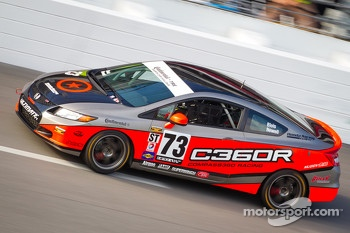#73 Compass360 Racing Honda Civic SI: Eric Blois, Andrew Newell