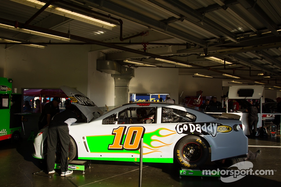 Car of Danica Patrick, Stewart Haas Racing Chevrolet