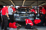 Wrecked car of Jamie McMurray, Earnhardt Ganassi Racing Chevrolet